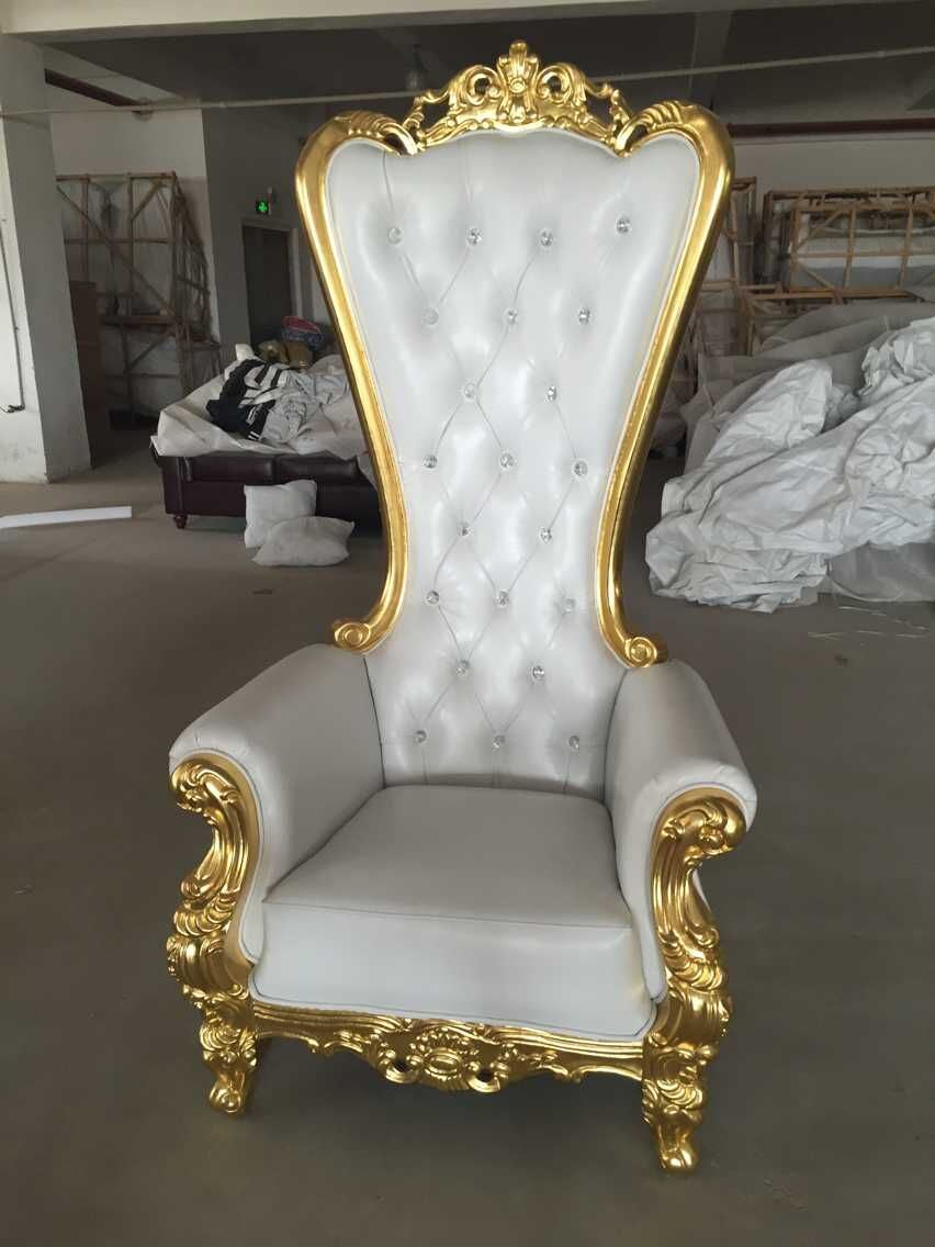 High Quality High Back Hotel Furniture Chair with Pink Color