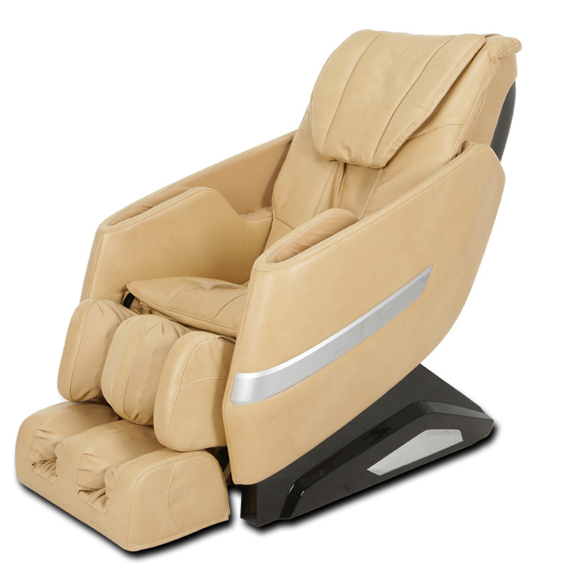 L-Shape Feet Rolling Massage Chair 4 Wheels Rt6162