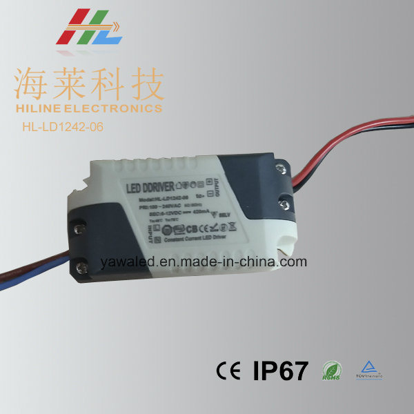 2*3W Cc Driver 420mA Plastic Indoor Power Supply