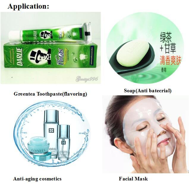 Cosmetic Ingredients Green Tea Extract Epigallocatechin Gallate EGCG 95% for Anti-Bacterial