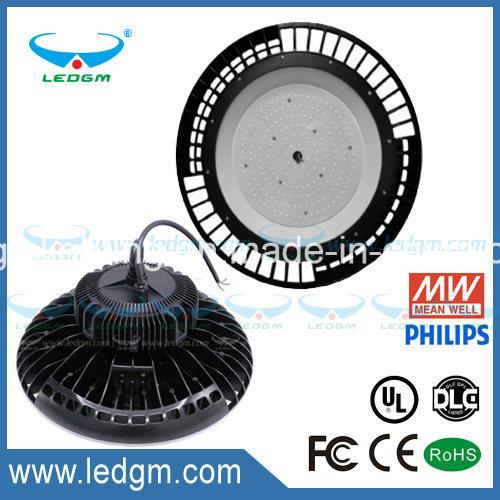 UL Ce RoHS FCC 240W UFO High Bay Lamp 130lm/W 150W 200W 240W LED Industrial Light with Big Heatsink