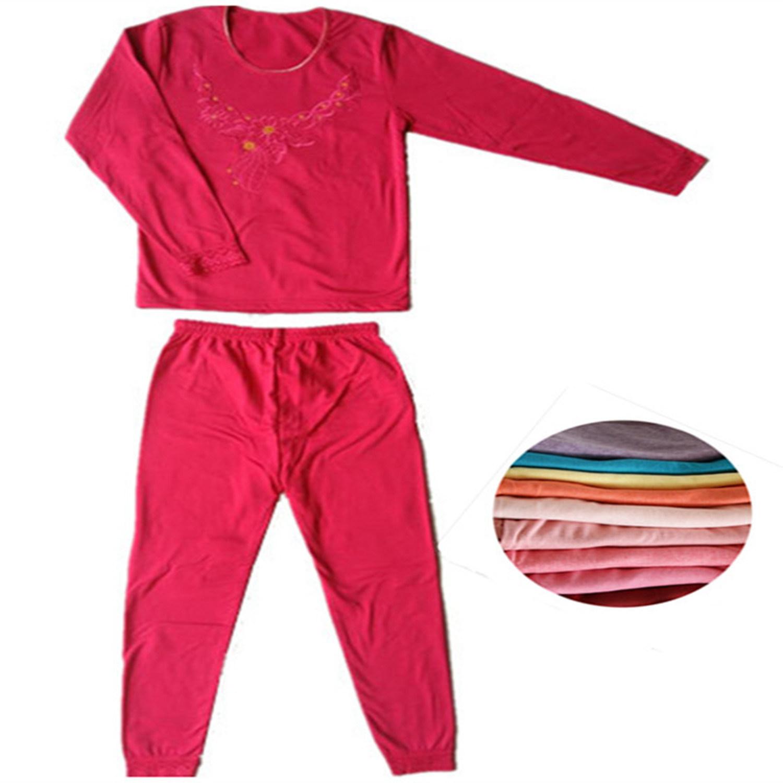Girl′s Underwear Winter Pajama Keep Warm