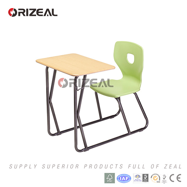 School Furniture Type and Wood, MDF with Melamine Board Material Table