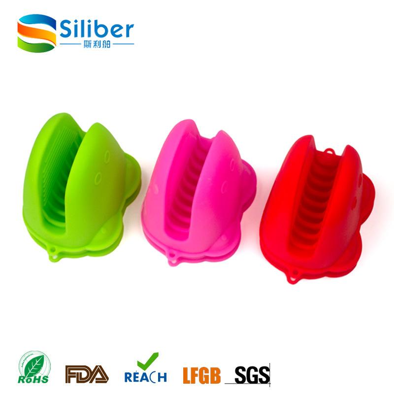 Food Grade Silicone Material Frog Glove Shape Pot Holder Gloves