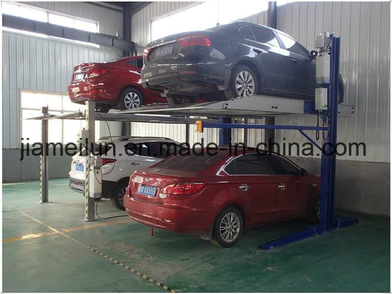 Parking System 2 Vehicles Car Storage Solution