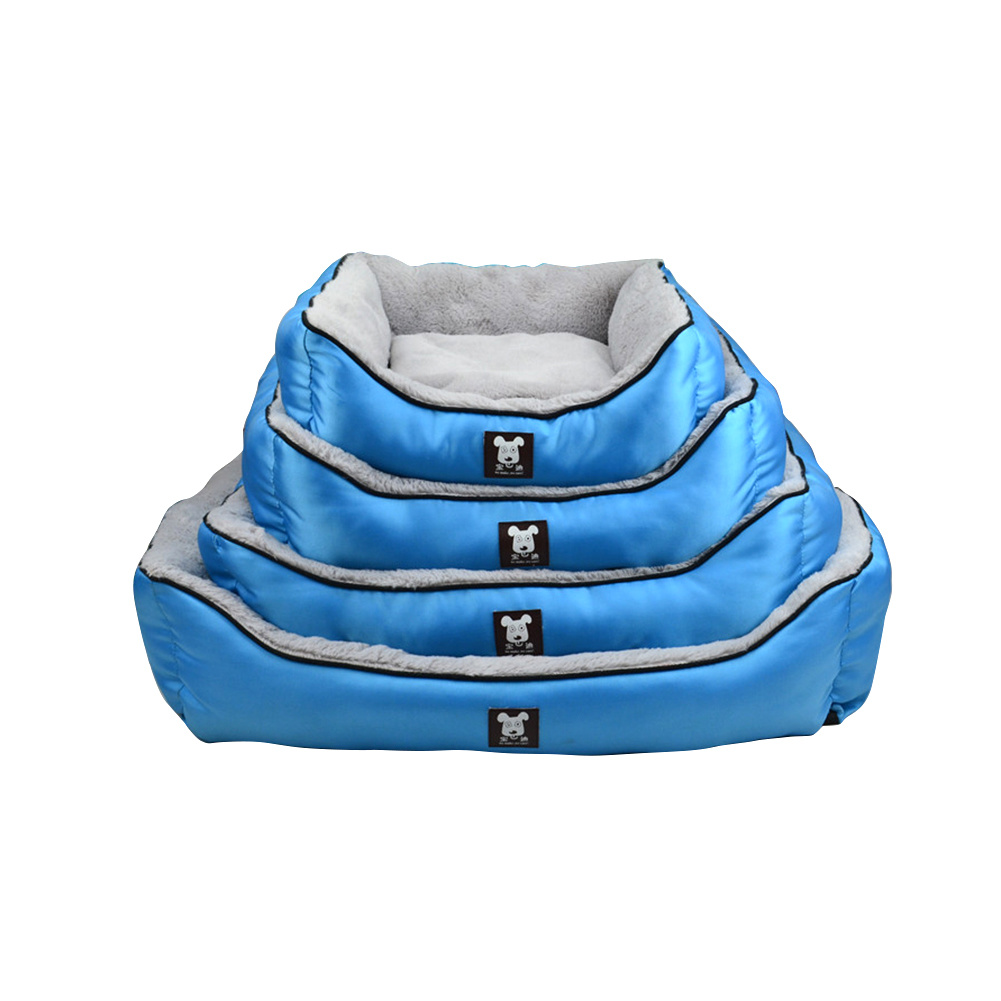 Rectangle Puppy Touch Dog Bed Detachable Touch Dog Bed