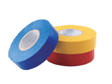 PVC Insulation Electrical Tape Fire Resistant, High Peeling Strength