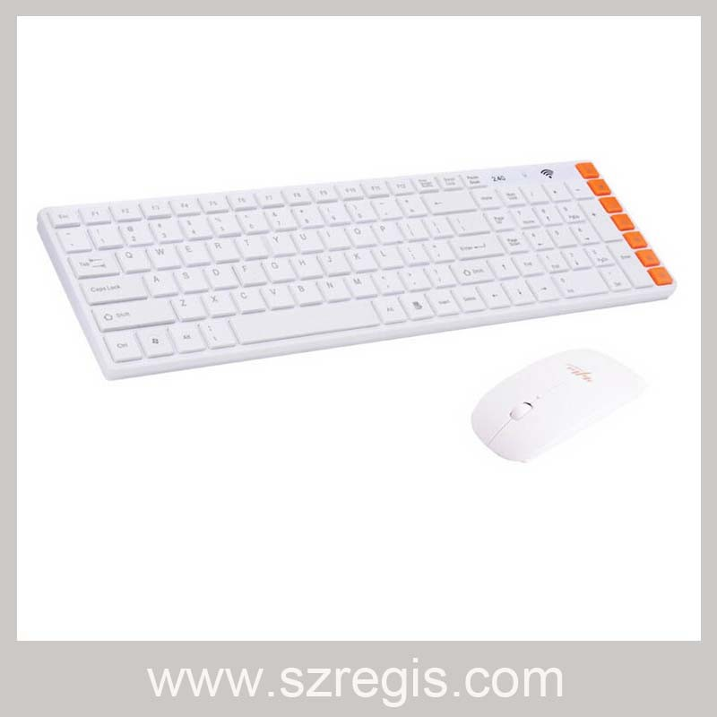2.4G Game Mini Wireless Notebook Laptop Computer Mouse and Keyboard