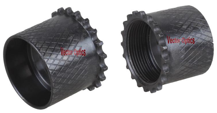 White Raw Aluminum Clamp Free Float Keymod Key Mod Quad Rail Handguard. 223 5.56 Ar-15 Ar15 Ar 15 M4 M16 Without Anodized Finish