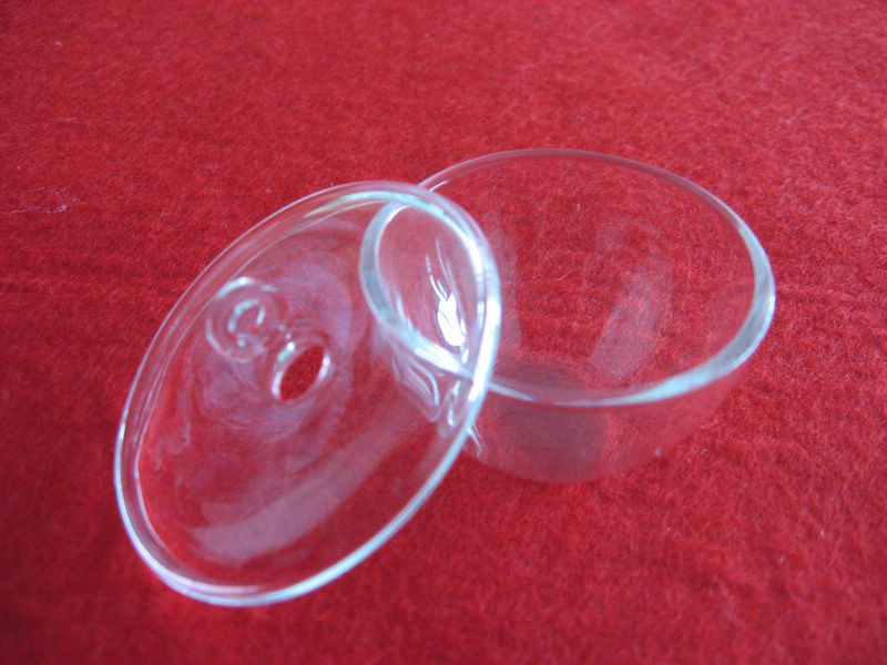 Transparent Silica Quartz Crucibles with Lid