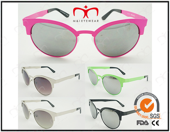 Fashion Metal Sunglasses for Unisex with UV400 Ce FDA (30341)