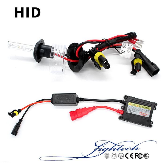 High Quality HID Xenon with 35W Slim Ballast HID Kits and 3500lm Bulbs
