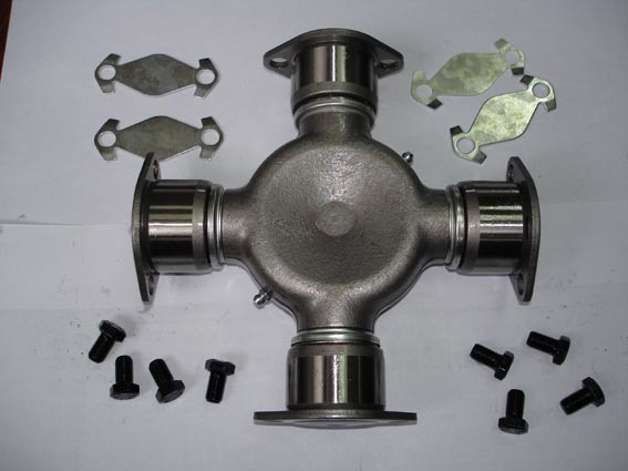 Two Wing Bearing Caps and Two Back Plate Bearing Caps Universal Joint