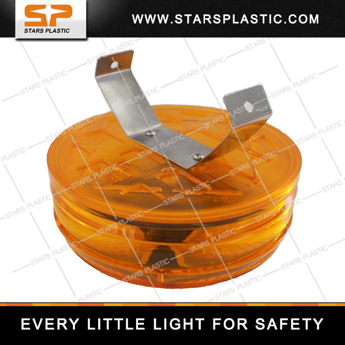 Solar Traffic Flash Light with Bright LED
