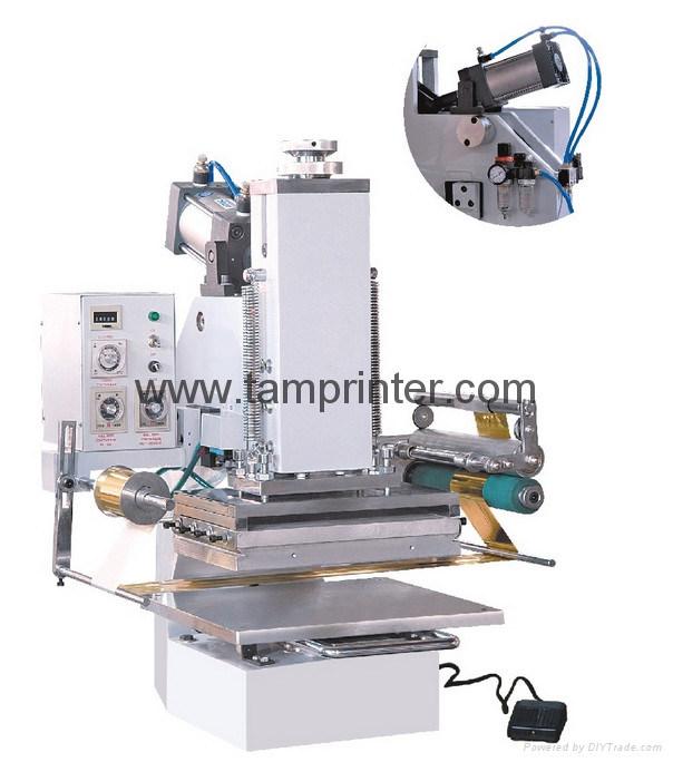 China Small Pneumatic Hot Stamping Machine