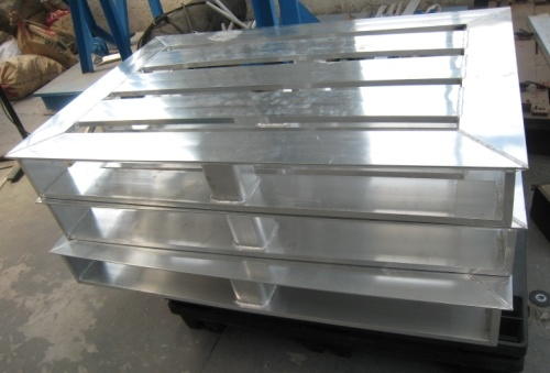Aluminum Welding Pallet for Medical Transportation
