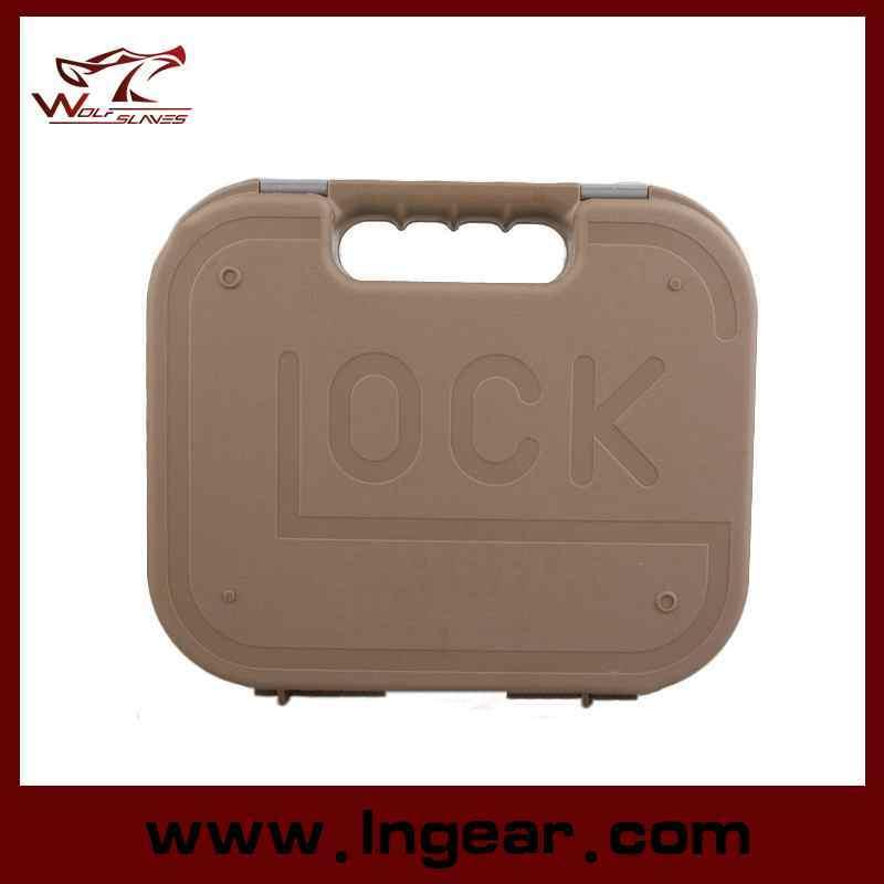 Military Tactical Plastic Case Glock Pistol Gun Case Tool Kit