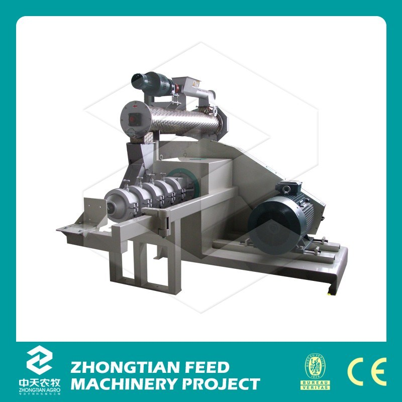 2016 Widely Used Single Screw Soybean Corn Dry Extruder