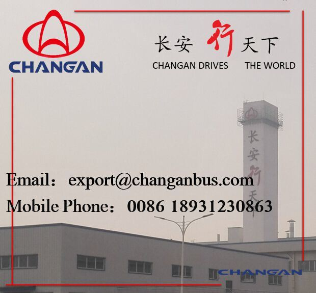 Changan Coaster Bus Minibus 15-30 Seats Diesel Low Price