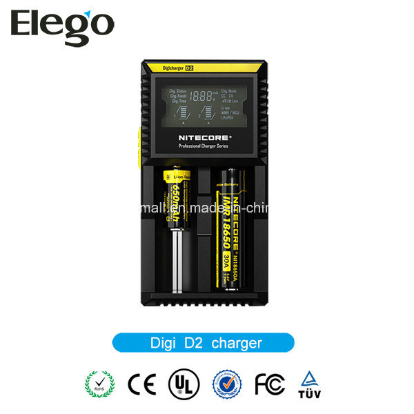 Nitecore D2 Digicharger LCD Display Battery Charger