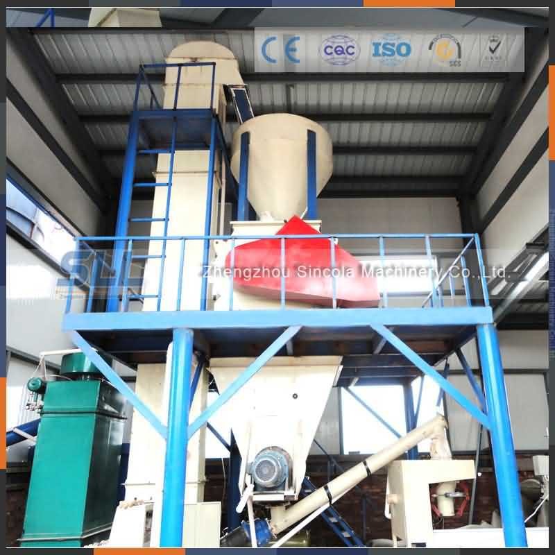 Dry Mortar Plant Equipment for Cement Decoration Mortar Mixing Plant