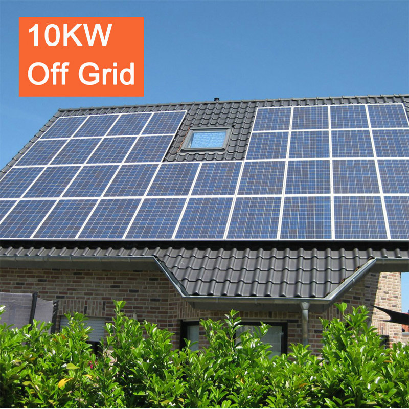 Factory Price Home Use off Grid Solar Power System 10kw