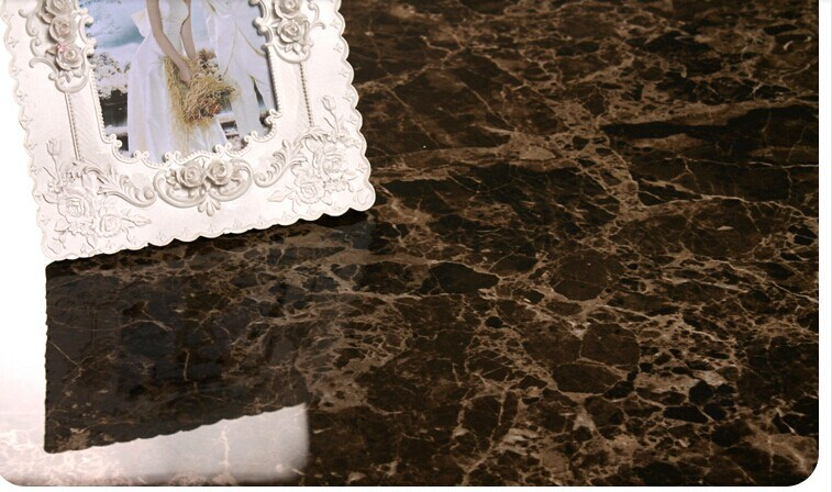 Glazed/ Full Polished Porcelain Tile Dark Emperador Floor Tile