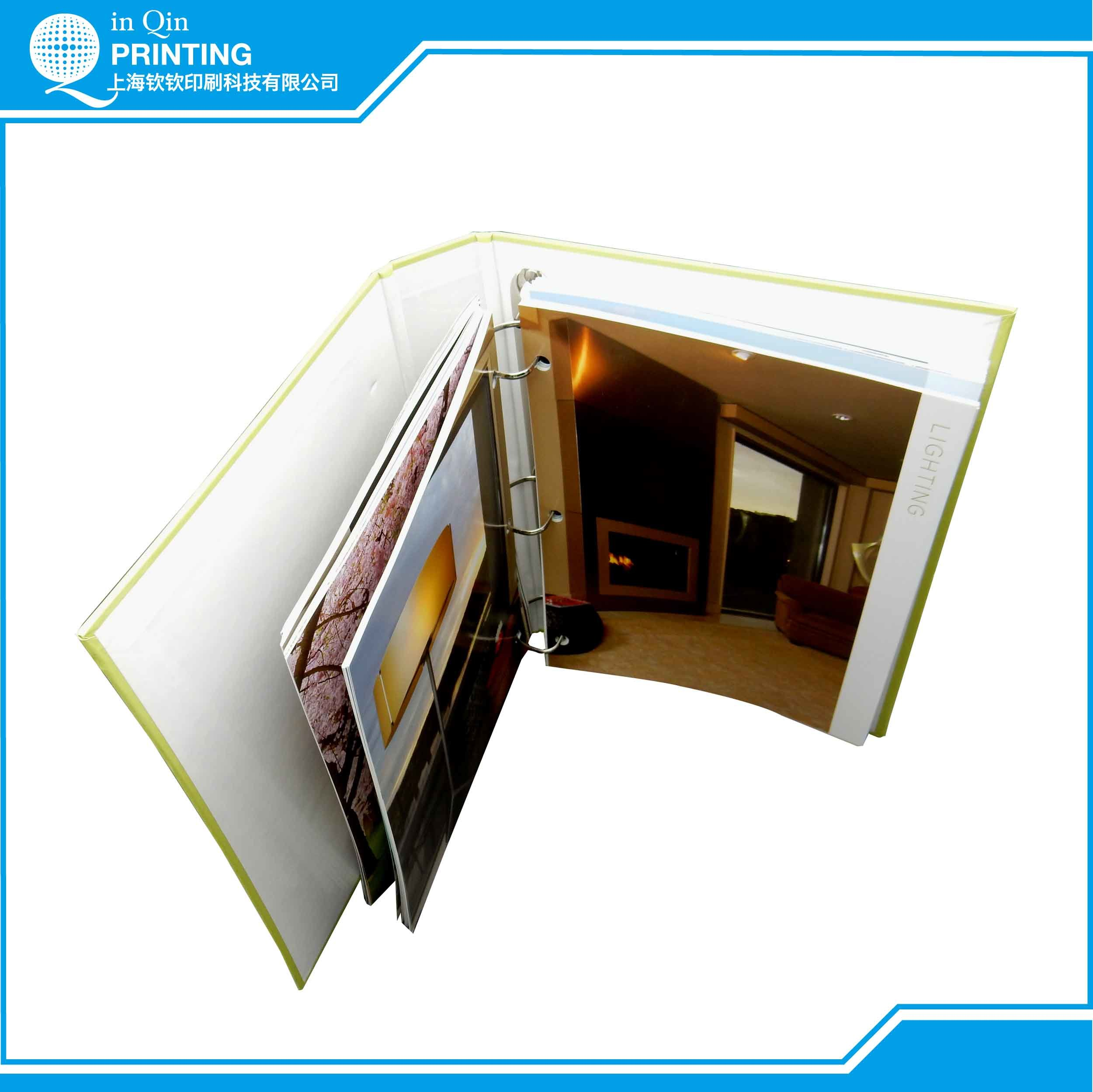 Printing Color Catalog with 3-Ring Binder