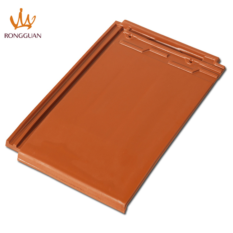 Matt Finish Clay Roof Tile Big Size Roofing