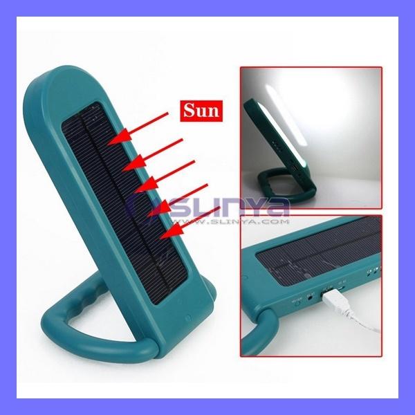 Solar Power LED Light Lamp Table Lamp Portable Camping Light