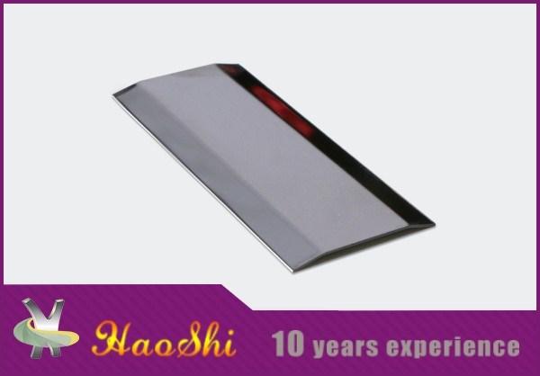 Haoshi Stainless Steel Carpet Edge Decorative Strips (HSSS-06)