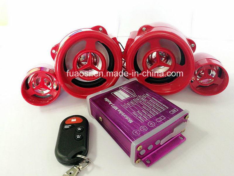 MP3 Audio Motorcycle Alarm System