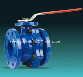 Cast Iron/Ductile Iron Bs Flanged Ball Valve