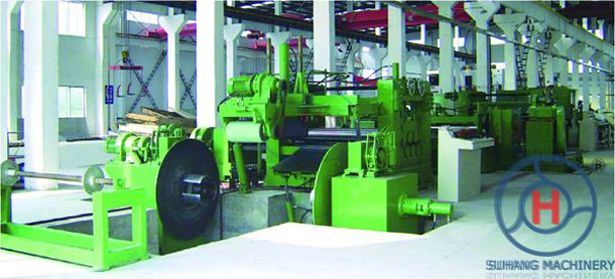 Galvanized Steel Automatic Line Speed 0-70m/Min Sheet Coil Slitting Machines