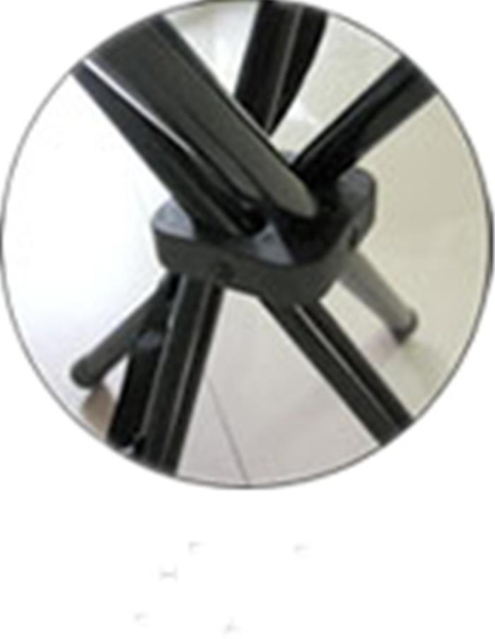 Aluminum Folding 4-Leg Stool
