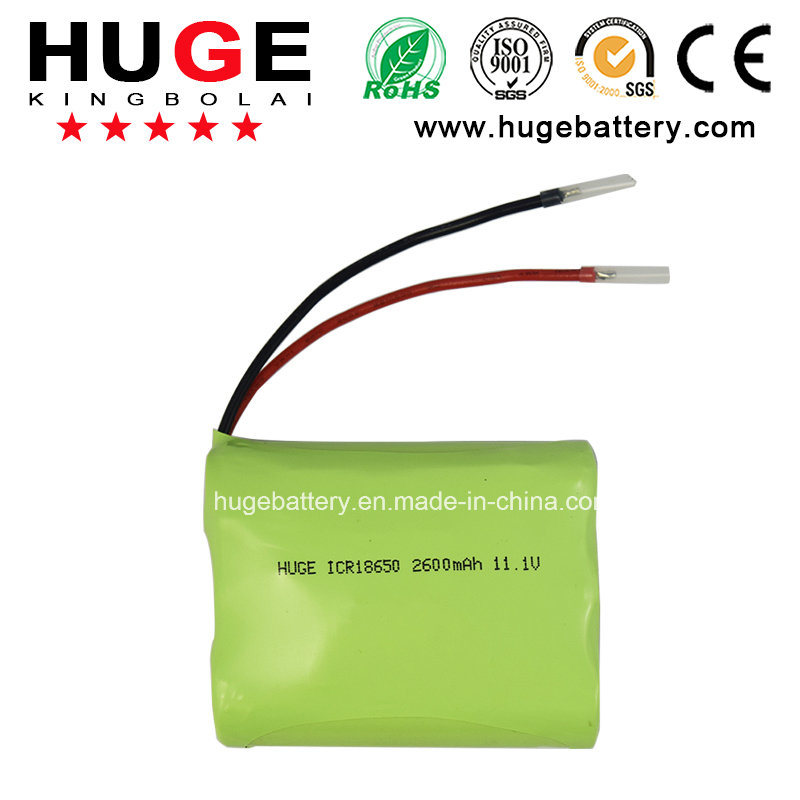 High Quality 3.7V Rechargeable Lithium 18650 Battery