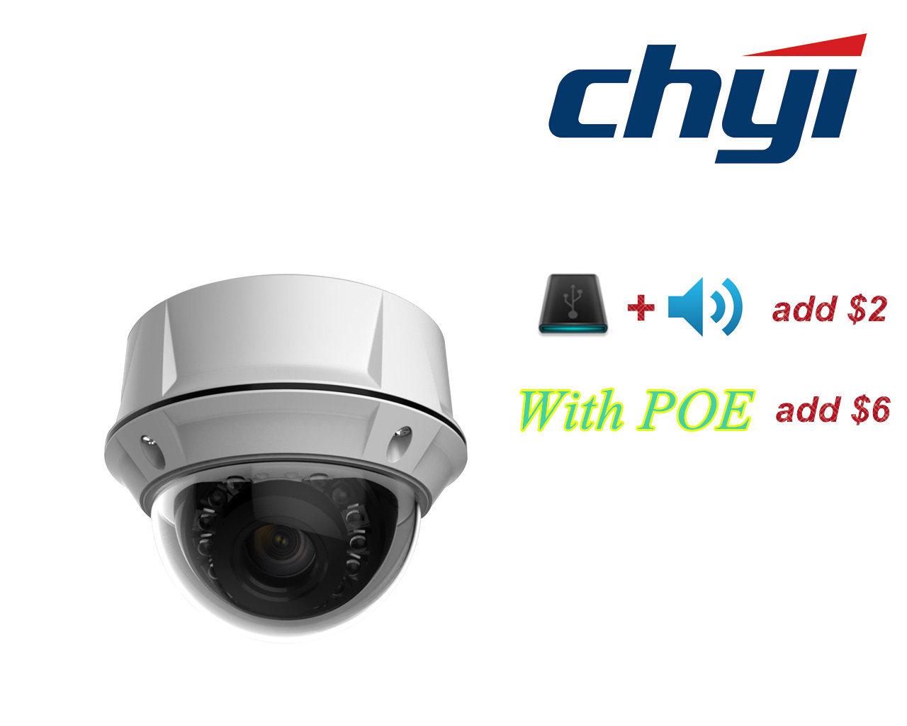 960p Infrared Security Vandalproof HD IP IR Dome Camera