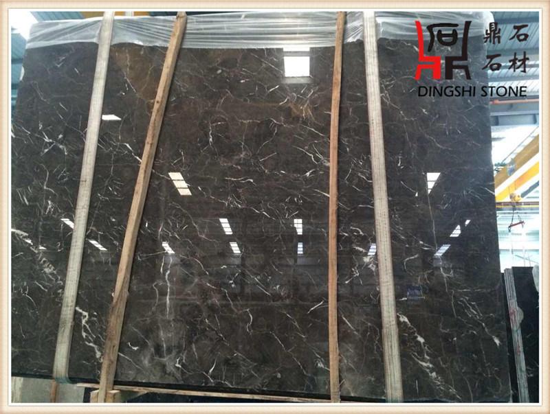 China Emperador Dark Cheap Price Marble Slabs