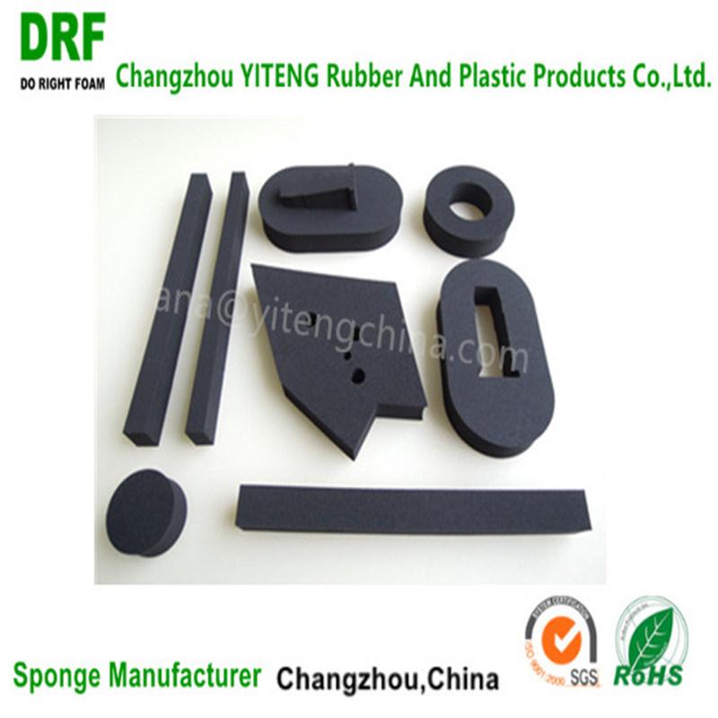 Closed Cell Waterproof Fireproof Black Neoprene Rubber Foam Chloroprene Foam
