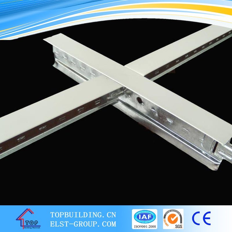Suspended Ceiling /Flat T-Gird/T-Bar 32*24*0.3mm