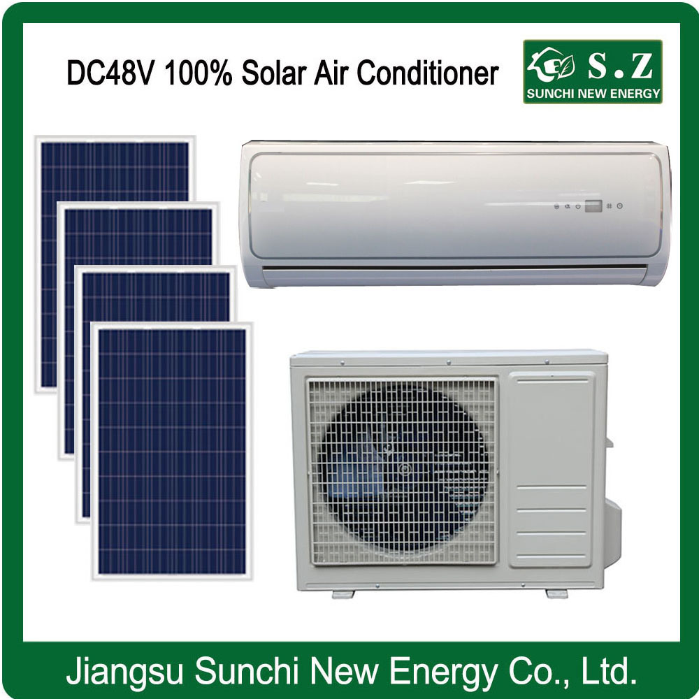 off Grid DC48V Air Conditioner with Total Solar Power Air Conditioners Sunchi