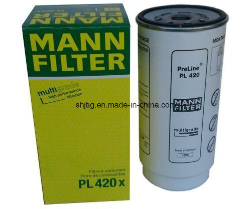 Fuel Filter Water Separator Pl420X for Truck Mann/Daf/Volvo/FAW/Kmaz/Benz/Scania