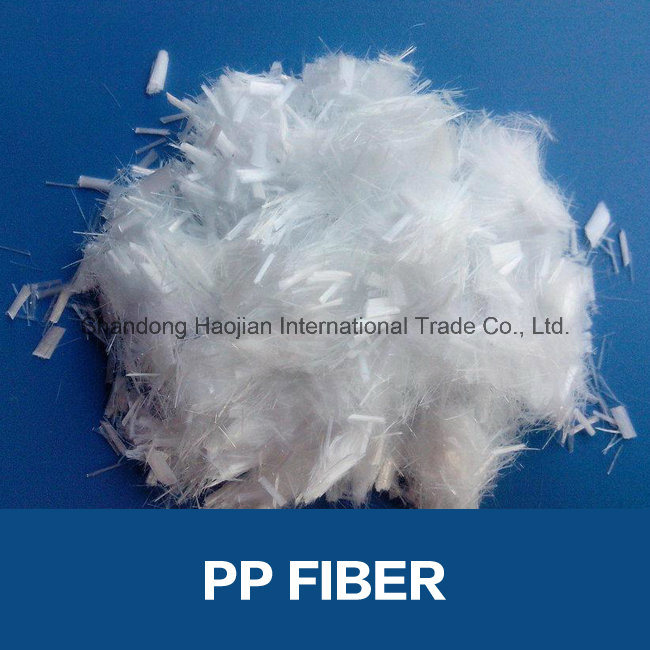 Crack Resistance Mortar Additive PP Fibra Construction Chemicals