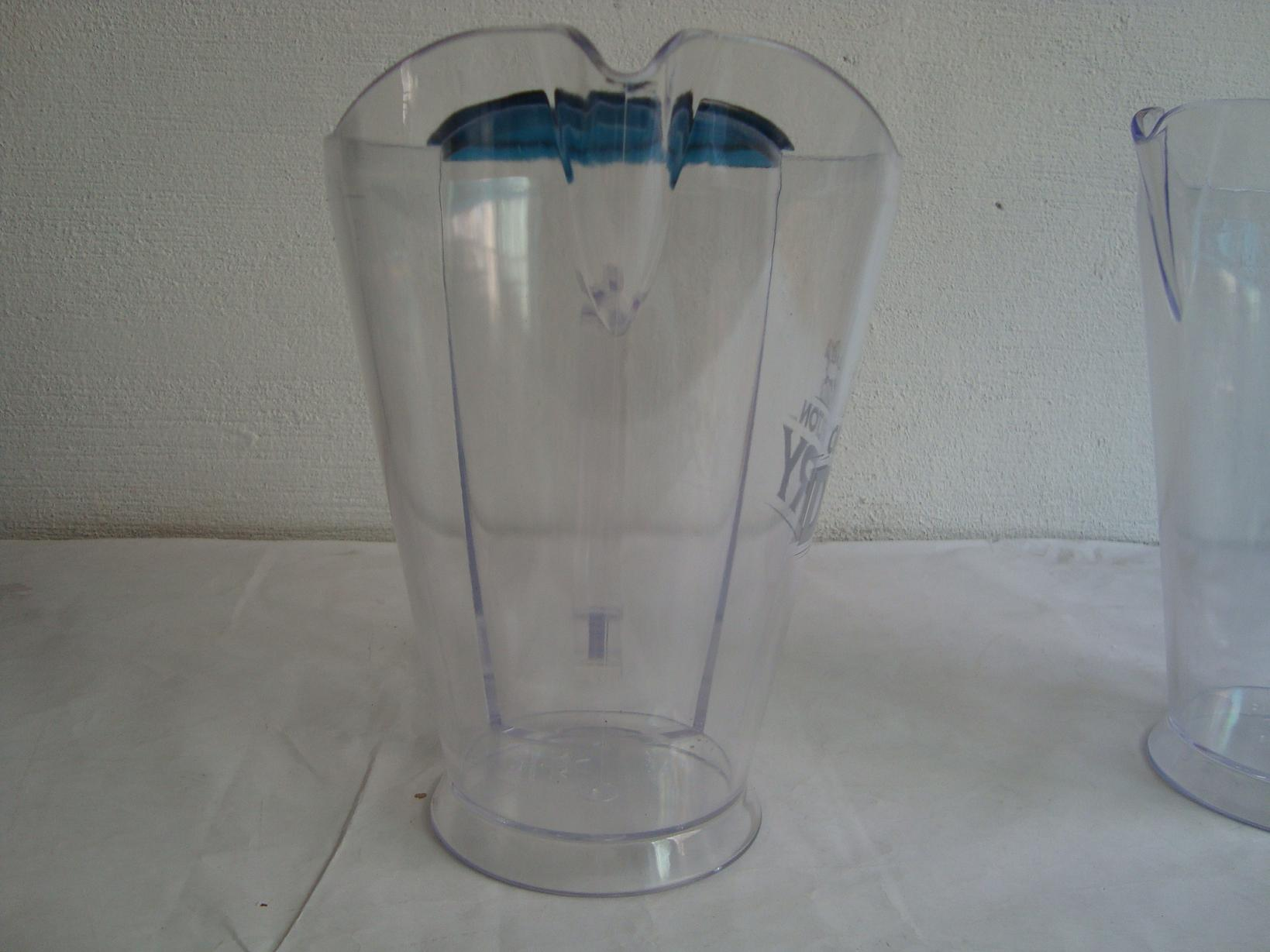 Pitcher with Ice Tube for Drinking
