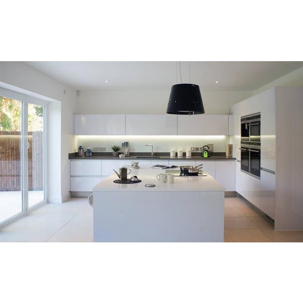 Modern Kitchen Cabinet Kuche Kabinett Mobel Lack Im Trend Kitchen Furniture Storage Cabinet