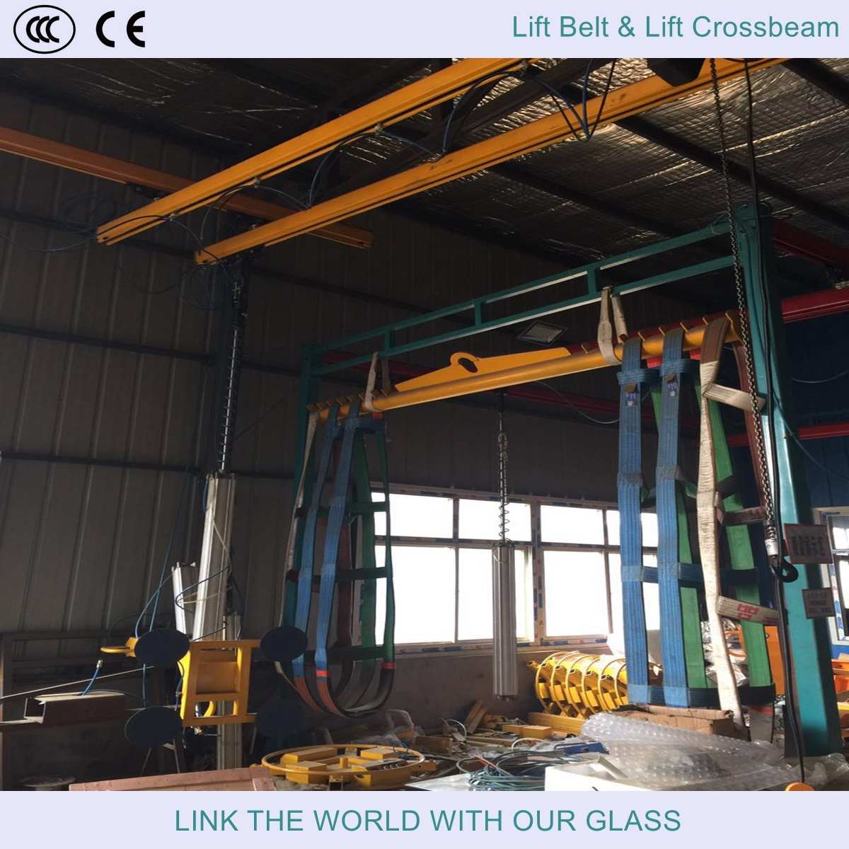 Forklift Truck Crane Arm for Glass Loading