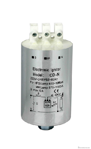 Jcd5a Ignitor for High Pressure Sodium Lamp