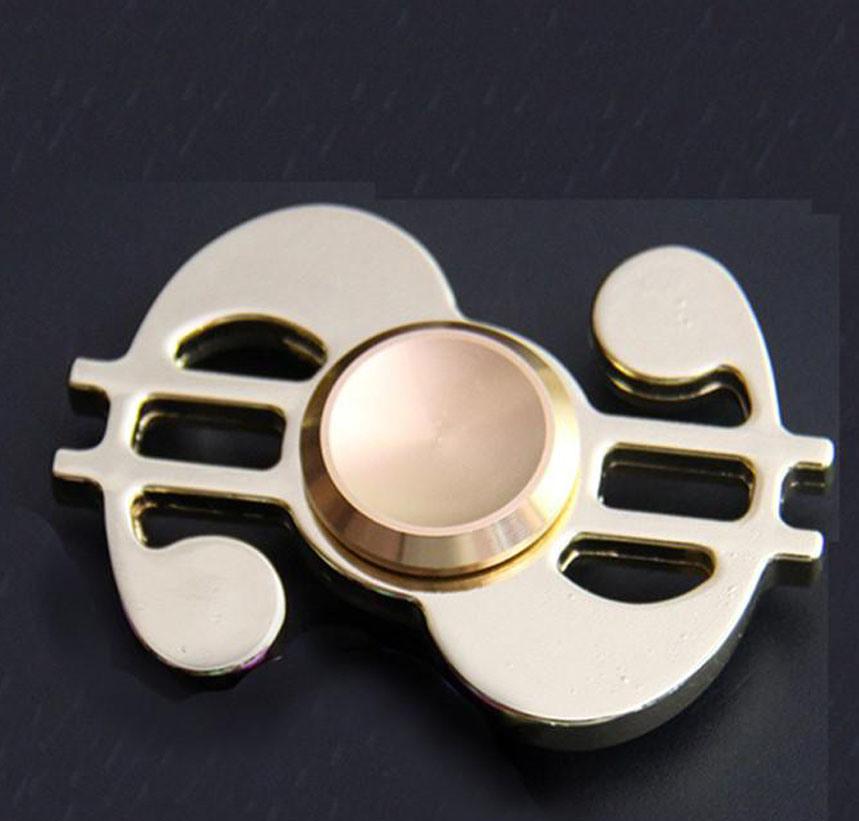 Fidget Toy Us Dollar Hand Spinner Metal Finger Stress Spinner High Quality Bearing EDC