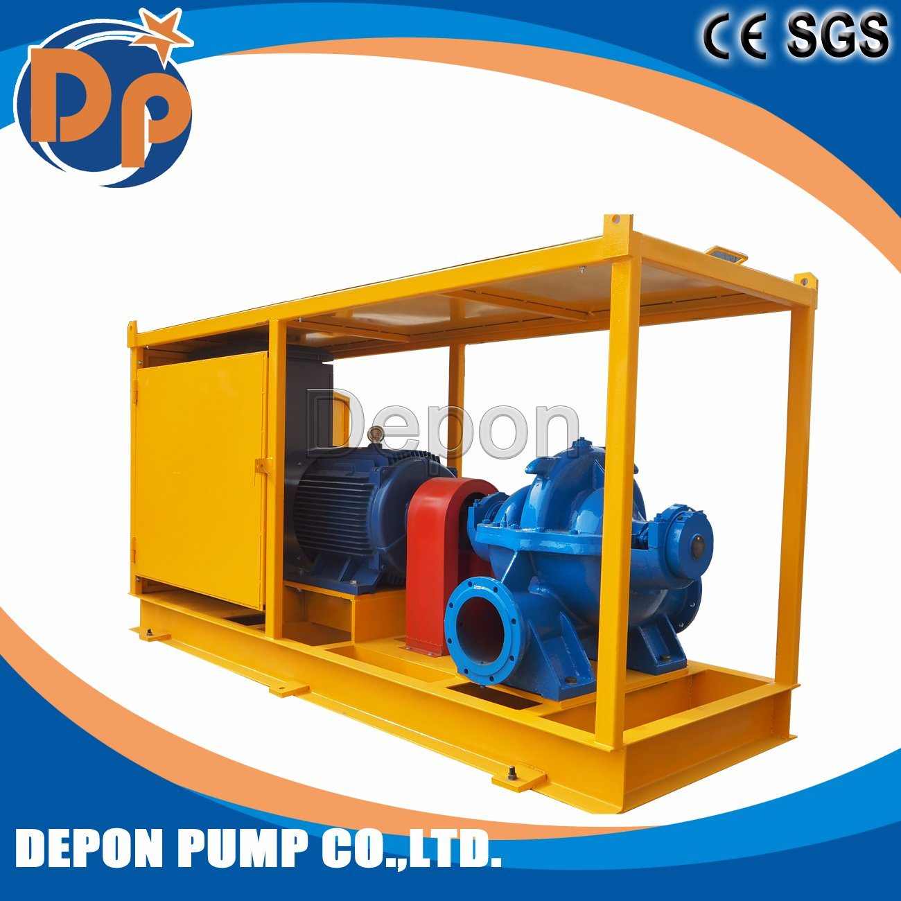 S Series Double Suction Split Case Water Pump