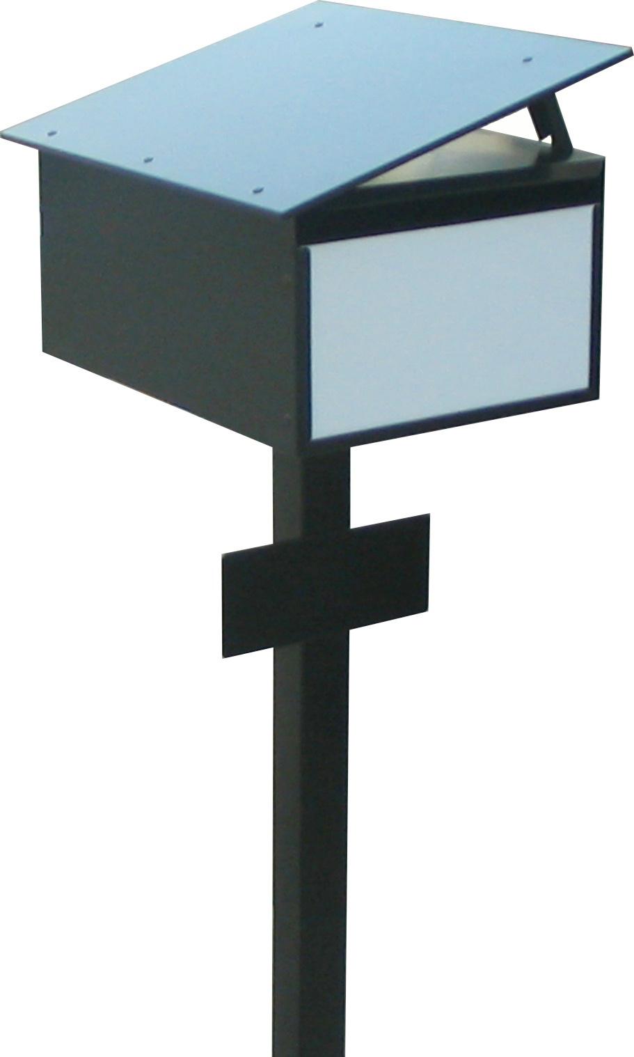China modern design square pole steel post mounted for Post modern furniture design